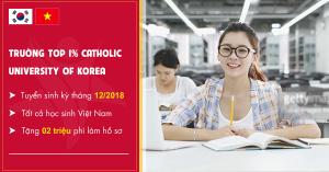TRƯỜNG ĐẠI HỌC CATHOLIC HÀN QUỐC – CATHOLIC UNIVERSITY OF KOREA.
