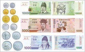1 Won bằng bao nhiêu tiền Việt Nam ?