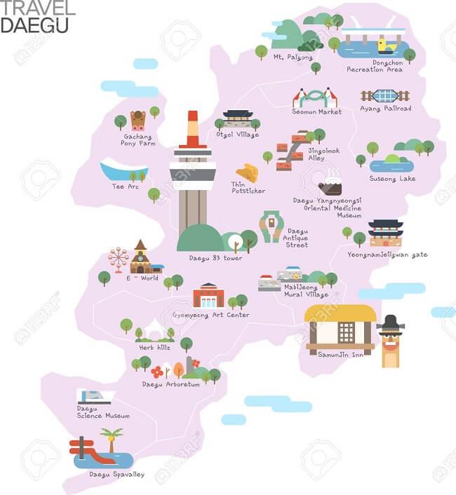 diện tích đất nước Hàn Quốc
