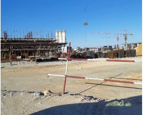 Tuyển công nhân xây dựng làm việc có thời hạn tại Algieria