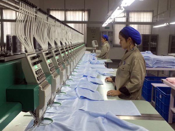 Nhà máy sản xuất khăn mặt Quảng Phúc