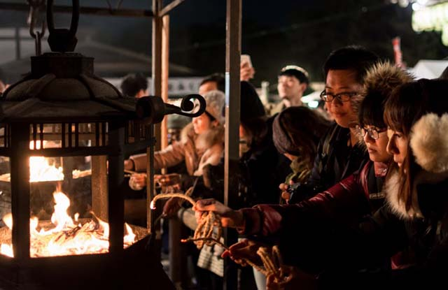 Lễ hội Okera Mairi của đền Yasaka
