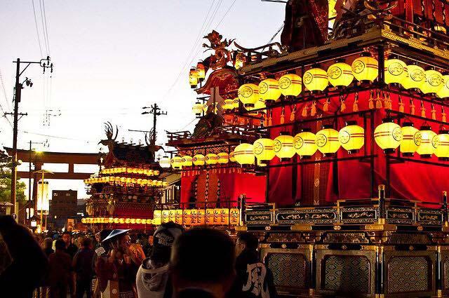 Lễ hội Takayama của đền Hachimangu