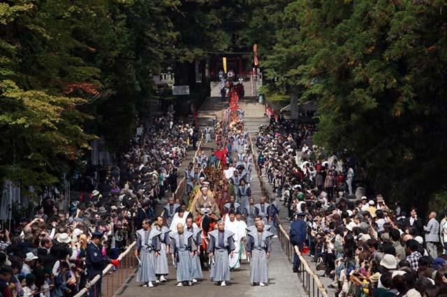lễ hội mùa thu toshogu