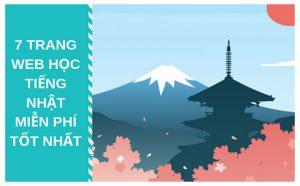 Khám phá các trang web học tiếng Nhật online miễn phí hay và tốt nhất