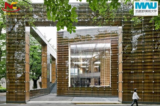 Học thiết kế đồ họa tại Đại học mỹ thuật Musashino
