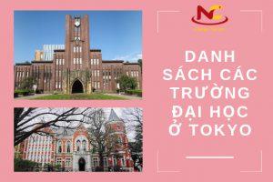 Danh sách các trường đại học ở Tokyo | Cập nhật mới nhất