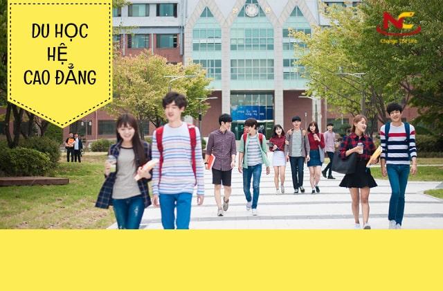 Các hình thức du học Hàn Quốc-Du học hệ Cao đẳng