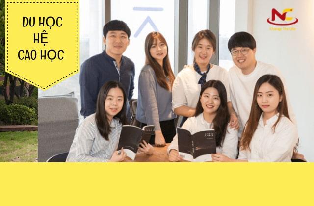 Các hình thức du học Hàn Quốc-Du học hệ Cao học