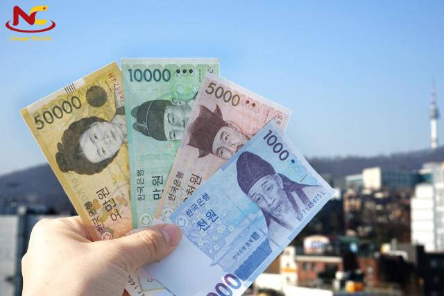 Giá trị đồng tiền Hàn Quốc