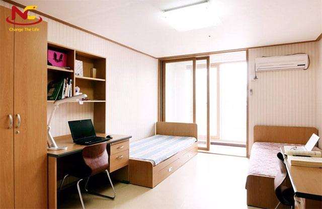 Kí túc xá trường đại học Tsukuba Nhật Bản