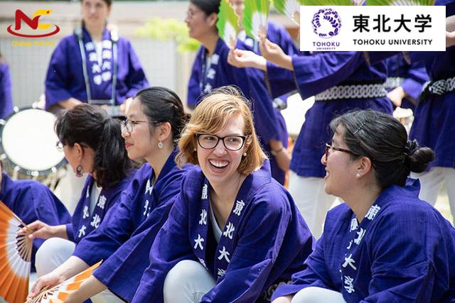 Ngày hội truyền thống trường đại học Tohoku