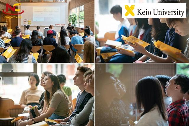 Sinh viên đại học Keio