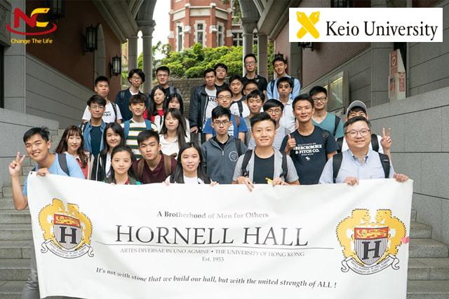 sinh viên trao đổi trường đại học keio