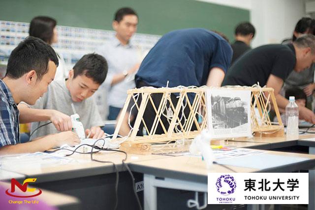 Sinh viên trường đại học Tohoku