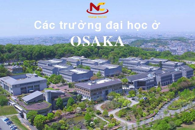 Trường đại học ở Osaka