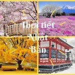 Tìm hiểu tất tần tật về thời tiết Nhật Bản trước khi đi du học