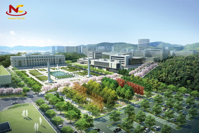 Khuôn viên của trường Đại học Kyung Hee