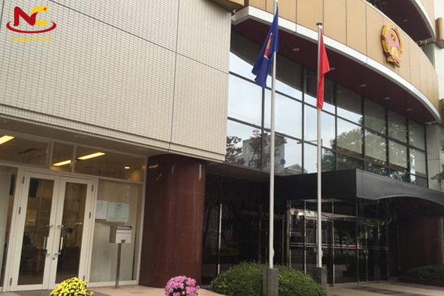 đại sứ quán việt nam tại osaka