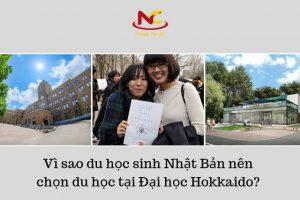 Vì sao du học sinh Nhật Bản nên chọn du học tại Đại học Hokkaido?