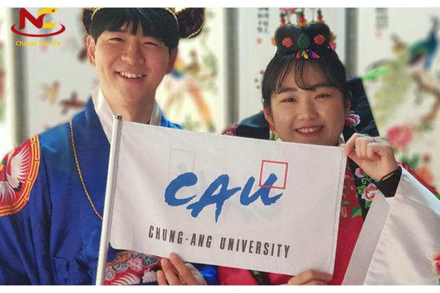 học bổng tại trường đại học Chung Ang