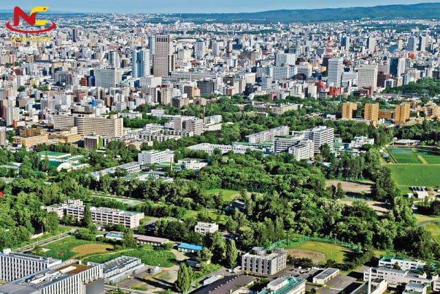 Khuôn viên cơ sở Sapporo của Đại học Hokkaido