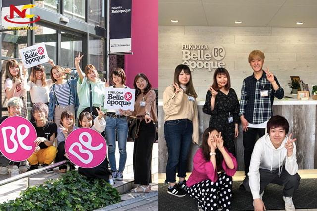 Cao đẳng thẩm mỹ Fukuoka Belle Epoque