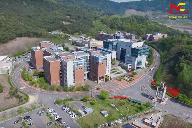Khuôn viên trường đại học quốc gia Busan
