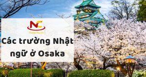 Các trường nhật ngữ ở Osaka Nhật Bản – trường nào là tốt nhất?