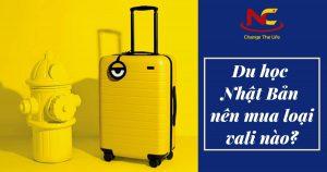 Đi du học Nhật nên mua vali loại nào thì phù hợp với du học sinh?