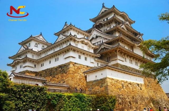 Du lịch Nhật Bản lâu đài Himeji