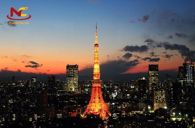 Du lịch tháp Tokyo Nhật Bản