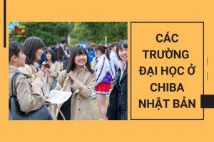 Các trường đại học ở Chiba Nhật Bản – Tổng hợp danh sách đầy đủ