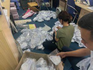 Năm Châu IMS gửi tặng 2500 khẩu trang cho Thực tập sinh tại Nhật Bản