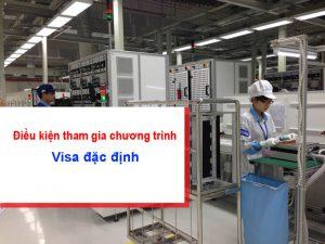 Điều kiện đi xklđ Nhật Bản theo diện visa đặc định