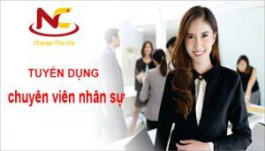 Tuyển chuyên viên nhân sự tại Hà Nội