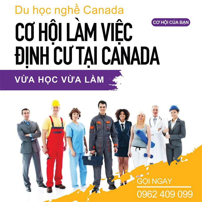 tuyển sinh du học nghề canada