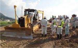 Đơn hàng dùng các thiết bị xây dựng tại tỉnh GIFU