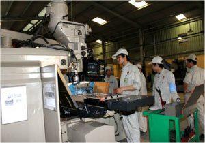 Đơn hàng CNC tại nhà máy canh tiến Đài Loan tăng ca đến 40 tiếng