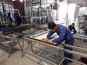 Đơn hàng gia công sản xuất cửa sổ nhôm lương 43 triệu tại Nhật